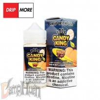 DripMore Candy King Peachy Rings - 100ml
