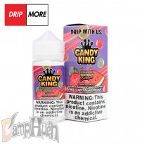 DripMore Candy King Strawberry Watermelon Bubblegum - 100ml